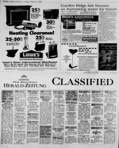 New Braunfels Herald Zeitung, February 11, 2000, Page 14