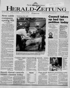 New Braunfels Herald Zeitung, February 18, 2000, Page 1
