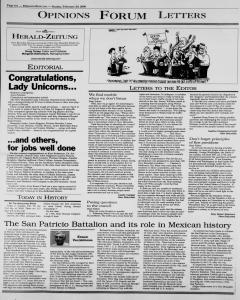 New Braunfels Herald Zeitung, February 20, 2000, Page 6