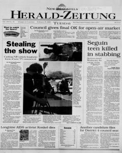 New Braunfels Herald Zeitung, February 29, 2000, Page 1