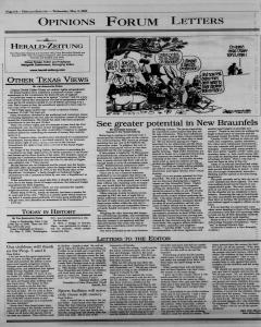 New Braunfels Herald Zeitung, May 03, 2000, Page 6