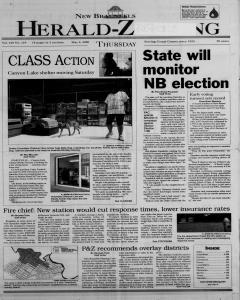 New Braunfels Herald Zeitung, May 04, 2000, Page 1