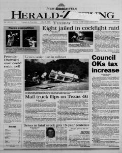 New Braunfels Herald Zeitung, May 09, 2000, Page 1