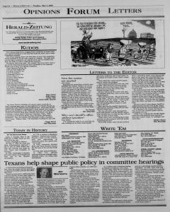 New Braunfels Herald Zeitung, May 09, 2000, Page 6