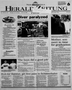 New Braunfels Herald Zeitung, May 26, 2000, Page 1