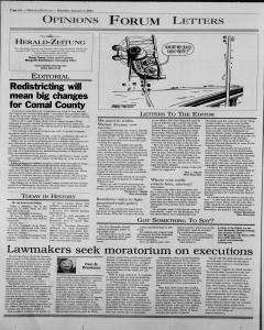 New Braunfels Herald Zeitung, January 06, 2001, Page 6