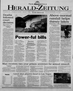 New Braunfels Herald Zeitung, January 11, 2001, Page 1