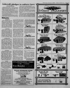 New Braunfels Herald Zeitung, January 17, 2001, Page 3