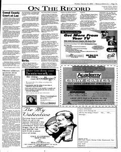 New Braunfels Herald Zeitung, January 21, 2001, Page 7