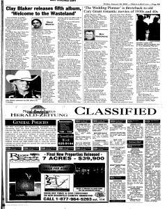 New Braunfels Herald Zeitung, January 26, 2001, Page 13