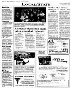 New Braunfels Herald Zeitung, February 03, 2001, Page 4