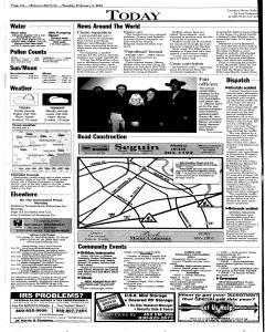 New Braunfels Herald Zeitung, February 06, 2001, Page 2