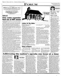 New Braunfels Herald Zeitung, February 10, 2001, Page 6