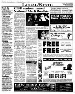 New Braunfels Herald Zeitung, February 14, 2001, Page 4