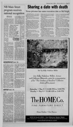New Braunfels Herald Zeitung, May 05, 2001, Page 9