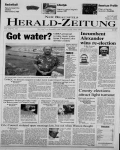 New Braunfels Herald Zeitung, May 06, 2001, Page 1