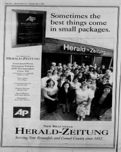 New Braunfels Herald Zeitung, May 06, 2001, Page 12