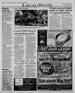 New Braunfels Herald Zeitung, May 09, 2001, Page 4