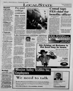 New Braunfels Herald Zeitung, May 10, 2001, Page 4