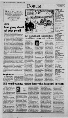 New Braunfels Herald Zeitung, May 13, 2001, Page 6