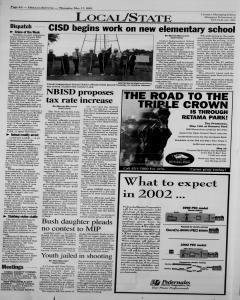 New Braunfels Herald Zeitung, May 17, 2001, Page 4