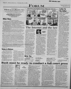 New Braunfels Herald Zeitung, May 17, 2001, Page 6