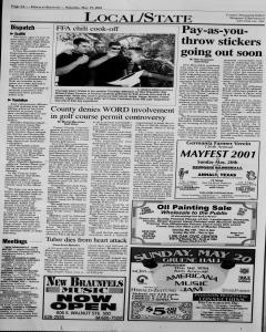 New Braunfels Herald Zeitung, May 19, 2001, Page 4