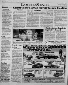 New Braunfels Herald Zeitung, May 20, 2001, Page 4