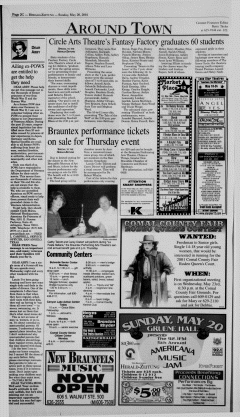 New Braunfels Herald Zeitung, May 20, 2001, Page 16