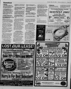 New Braunfels Herald Zeitung, May 20, 2001, Page 17