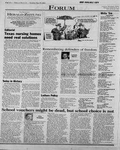 New Braunfels Herald Zeitung, May 29, 2001, Page 6