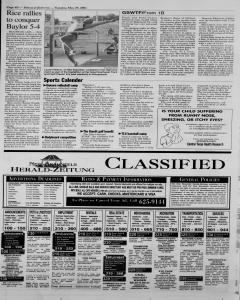 New Braunfels Herald Zeitung, May 29, 2001, Page 10