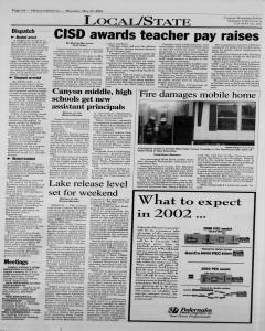 New Braunfels Herald Zeitung, May 31, 2001, Page 4