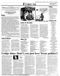 New Braunfels Herald Zeitung, January 15, 2003, Page 5