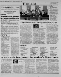 New Braunfels Herald Zeitung, January 28, 2003, Page 4