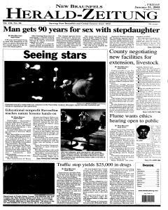 New Braunfels Herald Zeitung, January 31, 2003, Page 13