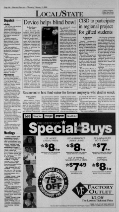 New Braunfels Herald Zeitung, February 13, 2003, Page 4