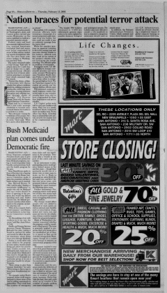 New Braunfels Herald Zeitung, February 13, 2003, Page 8