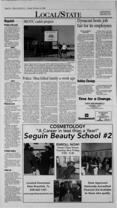 New Braunfels Herald Zeitung, February 16, 2003, Page 4