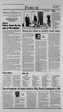 New Braunfels Herald Zeitung, February 16, 2003, Page 6