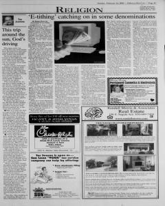 New Braunfels Herald Zeitung, February 16, 2003, Page 21