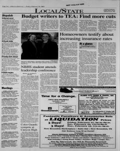New Braunfels Herald Zeitung, February 21, 2003, Page 4