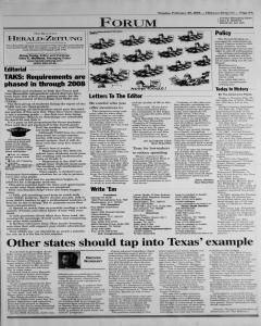 New Braunfels Herald Zeitung, February 25, 2003, Page 5