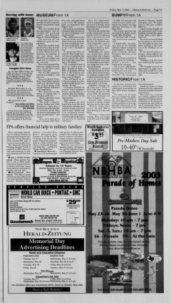 New Braunfels Herald Zeitung, May 09, 2003, Page 7