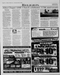 New Braunfels Herald Zeitung, May 24, 2003, Page 8
