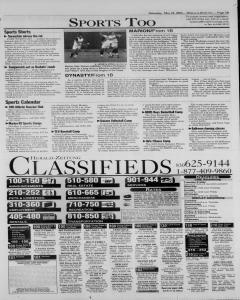 New Braunfels Herald Zeitung, May 24, 2003, Page 11