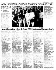 New Braunfels Herald Zeitung, May 25, 2003, Page 39