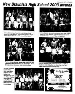 New Braunfels Herald Zeitung, May 25, 2003, Page 47