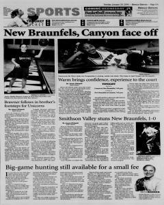 New Braunfels Herald Zeitung, January 20, 2004, Page 5