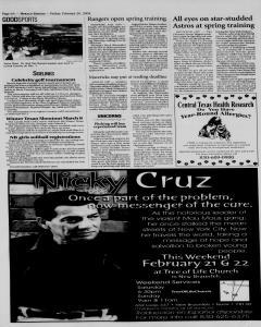 New Braunfels Herald Zeitung, February 20, 2004, Page 6